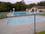 Use of beautiful heated, lifeguarded outdoor community pool included. Open Memorial Day to Labor Day