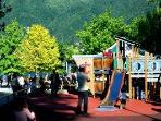 A Fun Playground in Cernobbio for kids