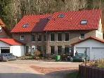 Vacation Apartment in Rinnthal - 947 sqft, highly rated, with sauna (# 1172)