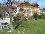Vacation Apartment in Bad Füssing - 646 sqft, great views, balcony (# 1335)