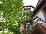 Vacation Apartment in Ladenburg - 581 sqft, nice furnishings, shaded surroundings with trees (# 872)