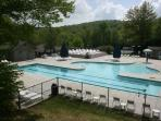 Beech Mountain Club Pool, an option available to guests of the Aspen Ski Loft