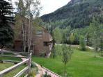 Very cozy ground floor condo in East Vail on free bus shuttle.