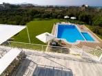 Greek Island Villa on Crete with Private Pool and Walking Distance to Beach - Villa Linos