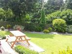 GARDEN FLAT, pet friendly, with a garden in Mevagissey, Ref 11470