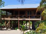 2 Bedroom Beachfront Blue Moon Cabana, Hopkins (sleeps 4 to 6 guests)