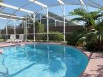 Spacious vacation home with private pool, close to Disney and free Wi-Fi.