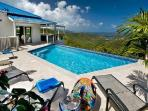 Bordeaux Breeze - Private villa with pool & spectacular Caribbean panorama