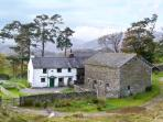 LOW ARNSIDE, pet friendly, character holiday cottage, with a garden in Coniston, Ref 10734