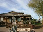 TERRACE Clubhouse for dining, entertainment + Music, Outdoor  Fireplace & San Tan Mountain Views!