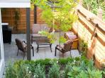 Another view of your private patio.