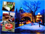 Wow! Modern Condos in Old Quebec-Walk and Enjoy