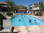 Swimming Pool, right at Sports Village, 100 yards from the condo
