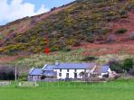 NANT-Y-PWL COTTAGE, family friendly, luxury holiday cottage, with a garden in Bryncrug, Ref 12092