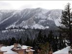 View From Great Room Deck (Sherwin Mountains)