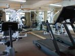 Fitness Room (In case you don't get enough of a workout on the mountain)