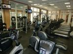 Exercise Center Located In Clubhouse Included With Rental