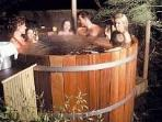 All Cedar Hot Tub fun for soaking and relaxing!