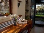 Garden Cottage - view from the table