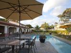 Outdoor Lanai & Pool.  The pool is perfect for swimming laps, playing games, relaxing and sunning.
