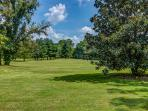 11 acres bordered by trees for privacy