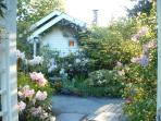 Our Cove Cottage is the Classic Vintage Cottage with Old Fashioned Garden Path