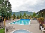 Heated Pool & Hot Tubs, Gas & Charcoal Grills - Ground Floor Unit right by the Pool (4106)