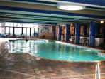 Winter is NOT a problem with Our Heated Indoor Pool