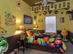 M & M Mania Bedroom - More photos: www.sweetescapehouse.com