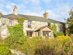 HENDRE ALED FARMHOUSE, large family cottage, with five bedrooms, two sitting rooms, and two woodburners, in Llansannan, Ref 6482