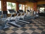 Clubhouse - Fitness Center with Treadmills, Exercise Bikes and Free Weights