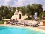Exceptional Trulli Villa with Pool, Southern Italy