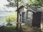 Additional building for reading, bald eagle bird watching, swimming, a getaway from the world!