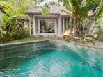 Romantic Cottage With Private Saltwater Pool