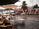 Buy Fresh Fish and Conch from a nearby Montagu Fish Market about 7 minutes drive from our Villa.