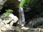 Cumberland Falls, one of the short hikes