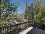 Private deck off kitchen (nestled in mature aspen trees)