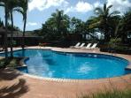one of four swimming pools