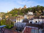 Carnero | Balcony with views of the Alhambra