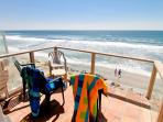 3 bedroom, Large Kitchen, Fireplace, Semi-private Beach