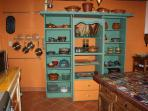 ceramic kitchen set from Dolores Hidalgo