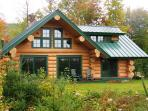 The Eaglet Log Home