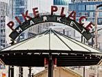 * Pike Place * NEW PICTURES, Secure Parking, VIEWS