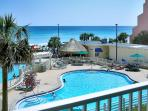 POOL & BEACH VIEWS! SLEEPS 8! OPEN 9/12-19! ONLY $895 TAX INCLUDED!