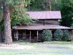 Tall Pine Cabin-authentic early 1900's log cabin.