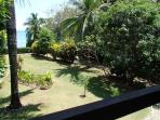 Our front yard and proximity to the sea.