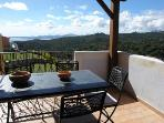 Apt. with panoramic terrace, 2 Km from Porto Cervo