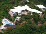 L'Esperance at Flag Hill, South Side St. Thomas - Ocean View, Pool, Tradewinds