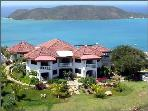 Tamar- magnificent view of Leverick Bay from tropical grounds with pool