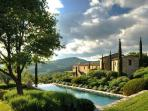 Wonderful Villa Noci with infinity lap pool, impressive views & daily maid